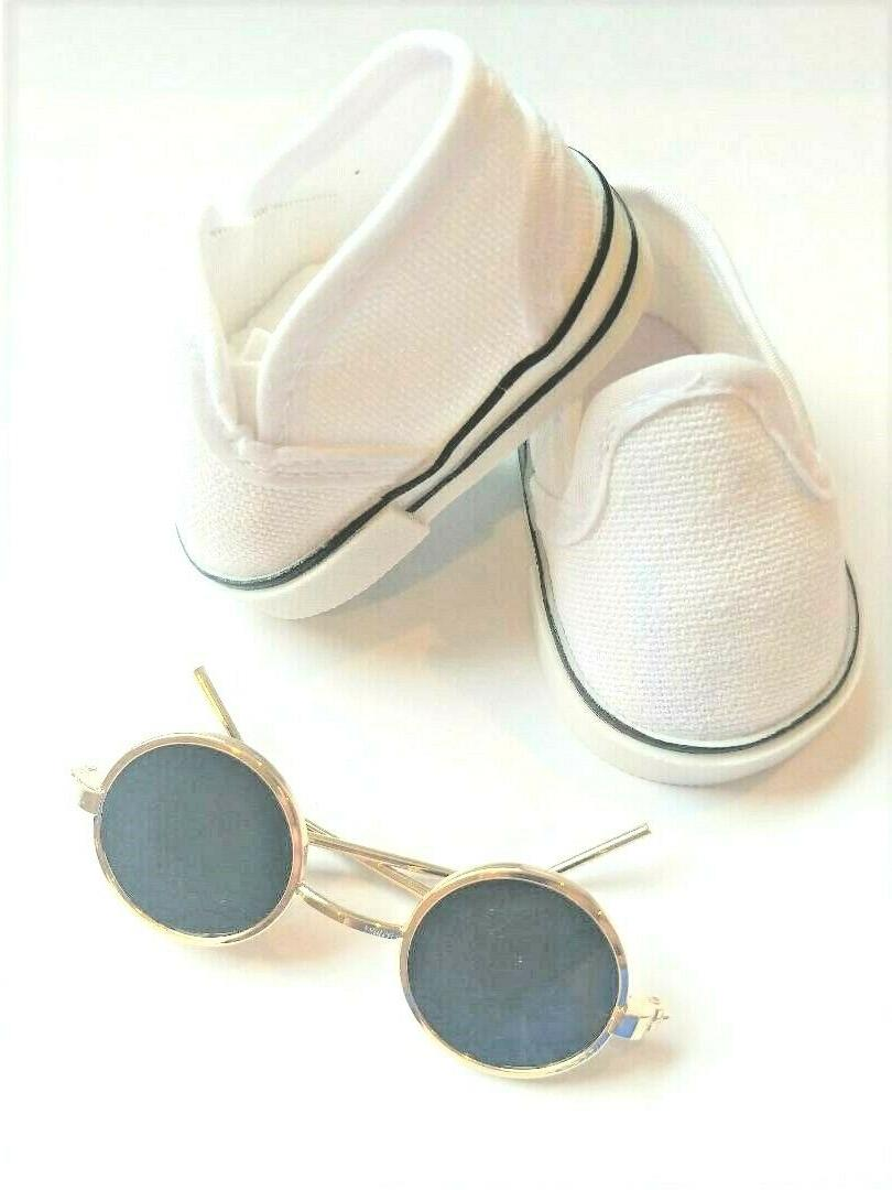 doll tennis shoes clothes for 18 inch