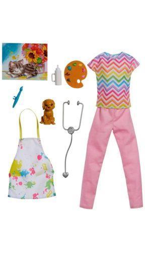 Barbie Career 8 Clothing Surprises
