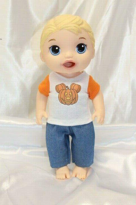 Boy Doll Clothes fits 12 inch Baby Alive Dress Outfit Hallow