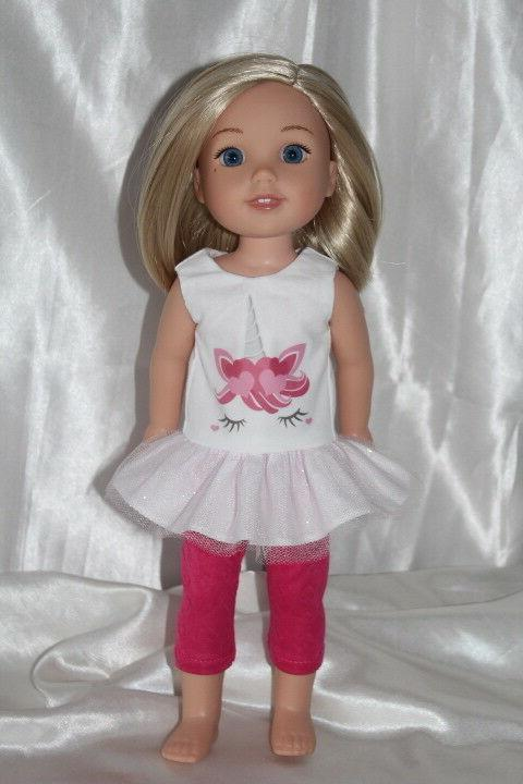 Dress Outfit fits American Girl Wellie Wishers Doll