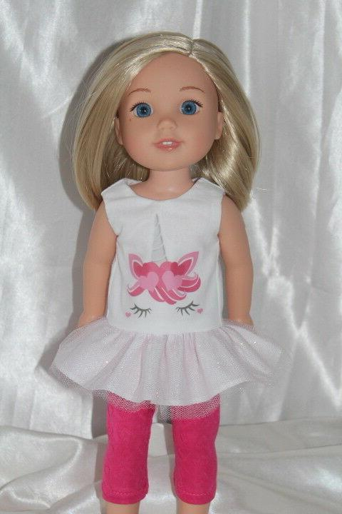 dress outfit fits 14inch american girl wellie