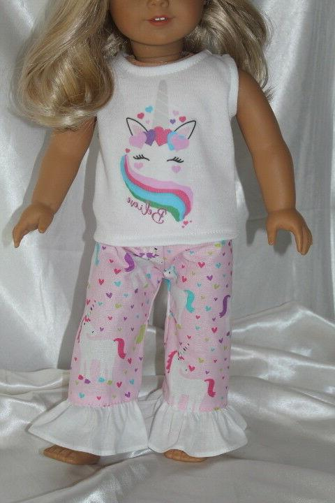 Dress Outfit fits 18inch American Clothes Unicorn
