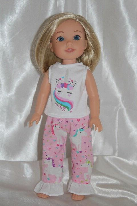Dress Girl Doll Unicorn