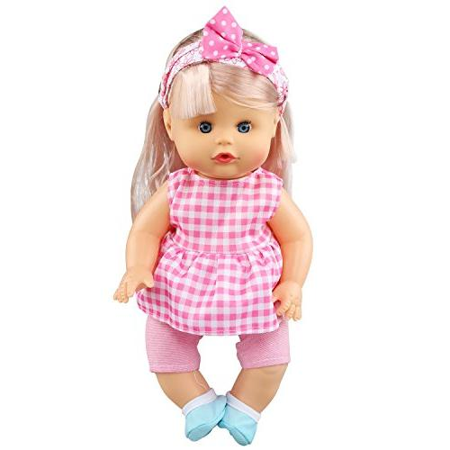 JING Pack of Lovely Baby Clothes Accessories Doll