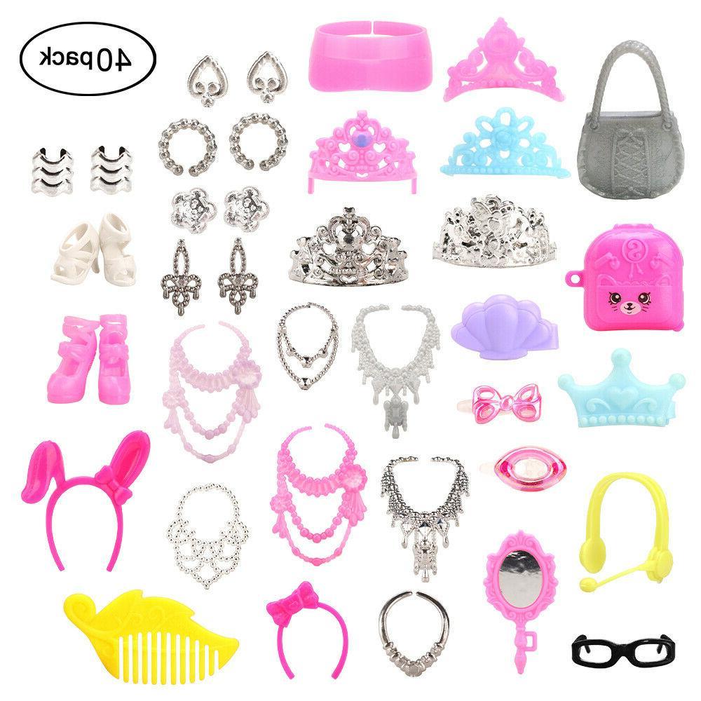 Barwa Doll Accessories =15 Random