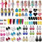 Fashion Doll Clothes Dress Pajama Shoes Bag Accessory for 18