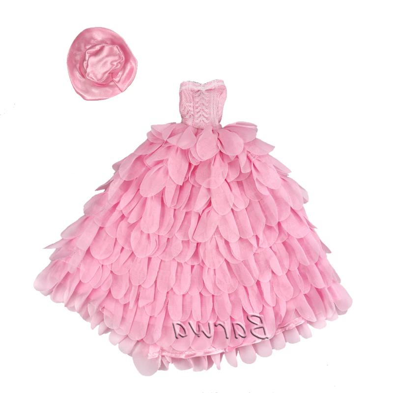 Fashion Handmade Doll Accessories Kids Toys Wedding Princess Dolls