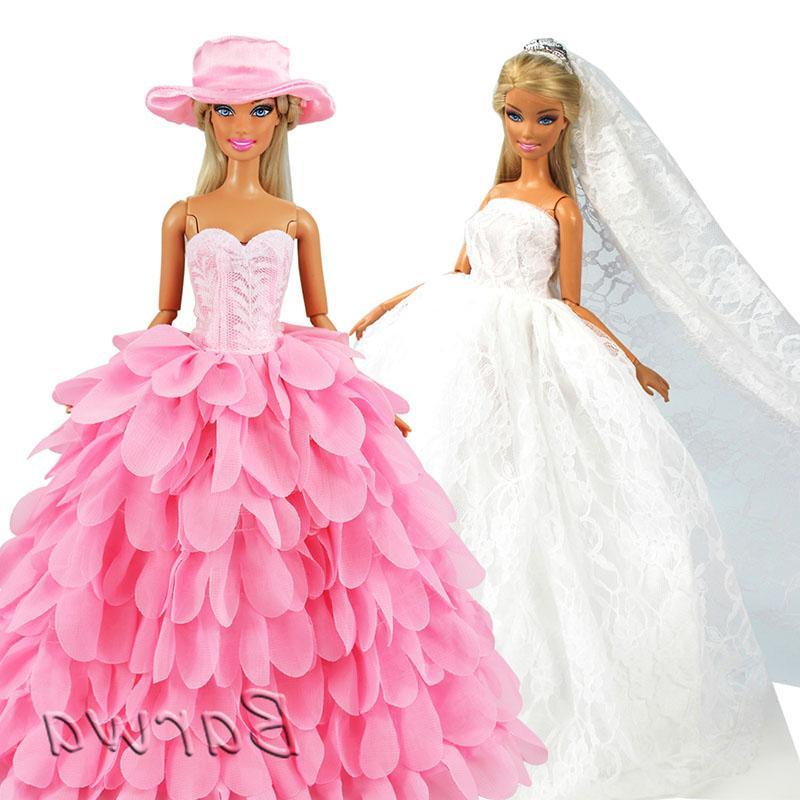 fashion handmade doll accessories kids toys wedding