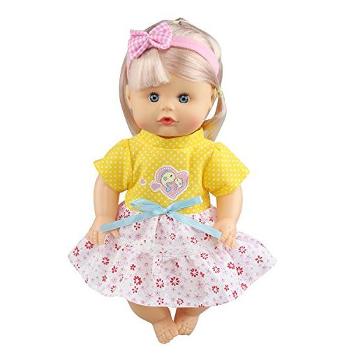 JING SHOW BUSSINESS of Inch Baby Doll Gown Dress Fashionista Outfits Include Hair Band Girls