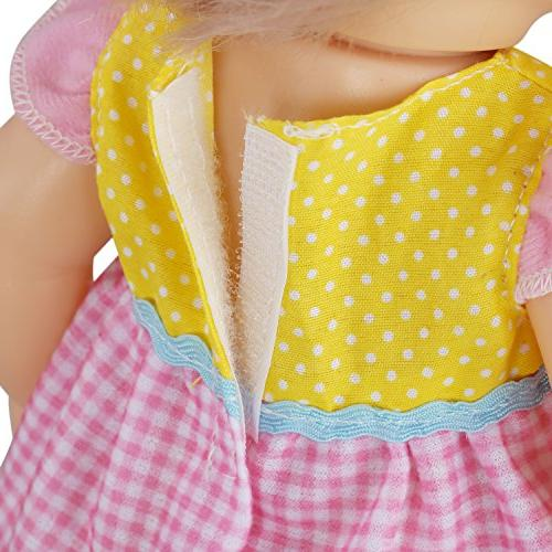JING SHOW Pack of Fit Inch Gown Outfits Hair Band Girls Doll