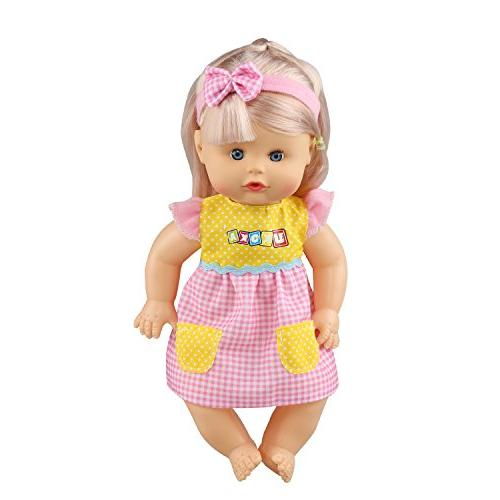 JING of 6 Fit Inch Gown Outfits Girls American