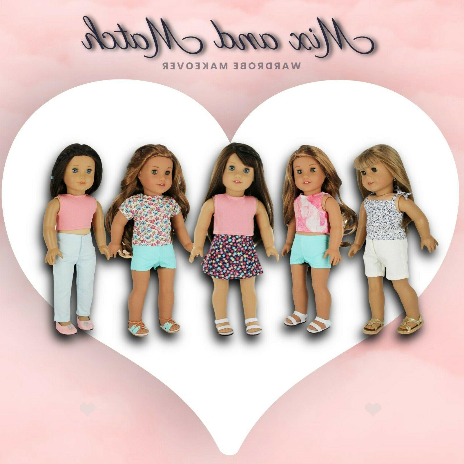 """Fits 18"""" Girl Doll Doll 7"""