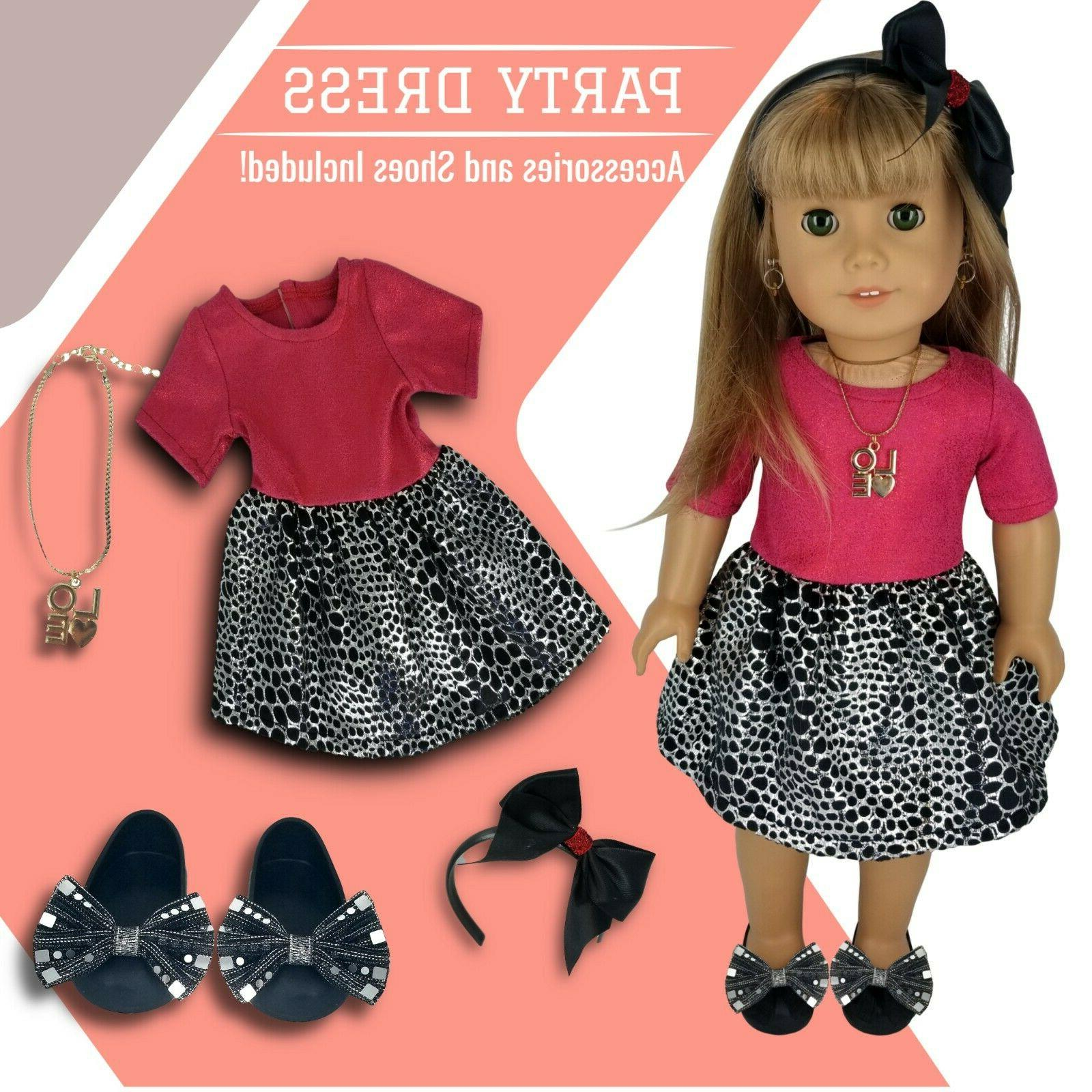 Fits American Girl Doll with Umbrella Outfit