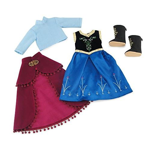 Fits Girl Dolls Princess Inspired Dress | 18 Inch Clothes Outfit Costume