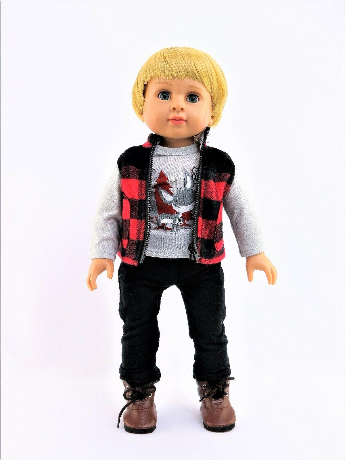Fox Set Boy Doll Clothes