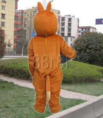 Fox adult Mascot costume clothing doll advertising