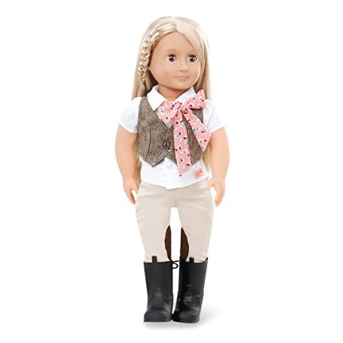"Our Generation LEAH 18"" Doll New"