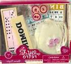 "Battat Our Generation Retro 18"" Doll Game Night Dominoes Bin"