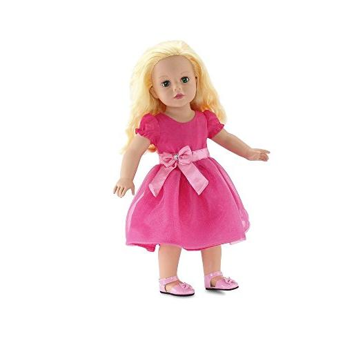 18 Doll | Pink Easter Doll Fits American Girl
