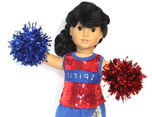 Got Spirit Cheerleader red/white/blue most