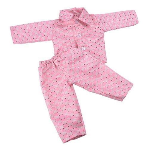 Handmade Doll Clothes Sleepwear for 18 Girl Doll R.