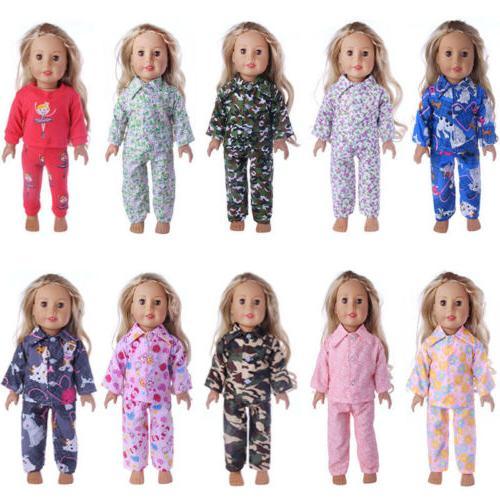 Handmade Sleepwear 18 American doll