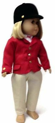 "Horse Riding 4 piece Set made for 18"" American Girl Doll Clo"