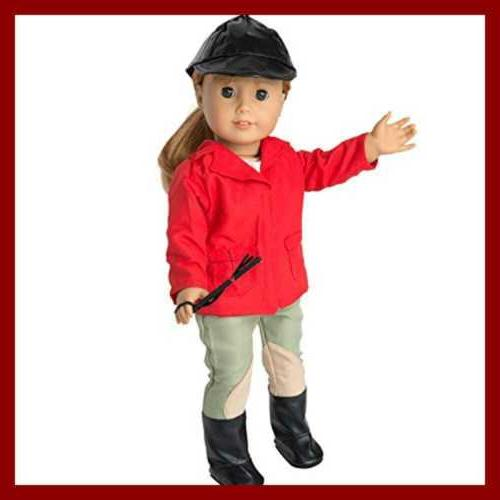 Horse Riding Equestrian Doll Outfit - Clothes for American G