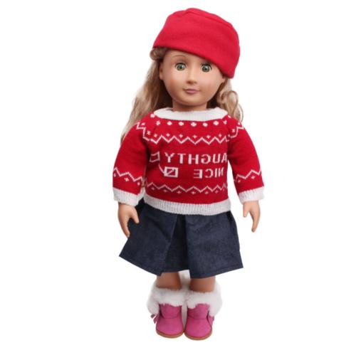"Hot~ Fits 18"" inch Doll Baby Handmade Doll Dress"