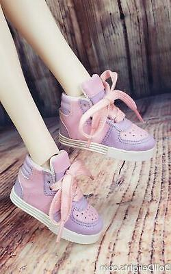 Kawaii Pop Pastel Sneakers Shoes - 1/3 BJD Clothes Smart Dol