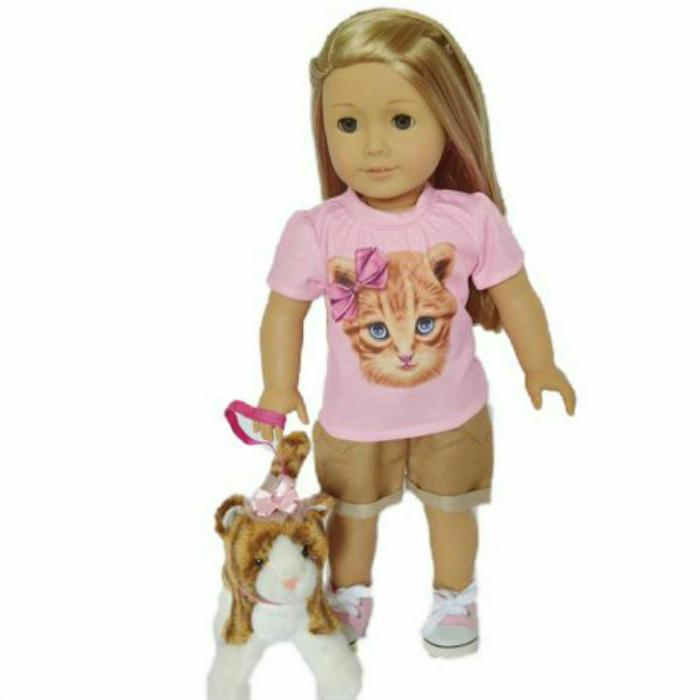 kitten doll outfit fits 18 inch american