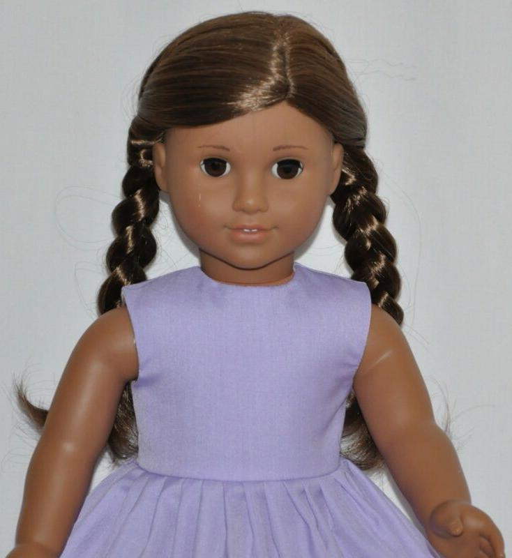 "Lavender Dress 18"" American Girl Clothes"