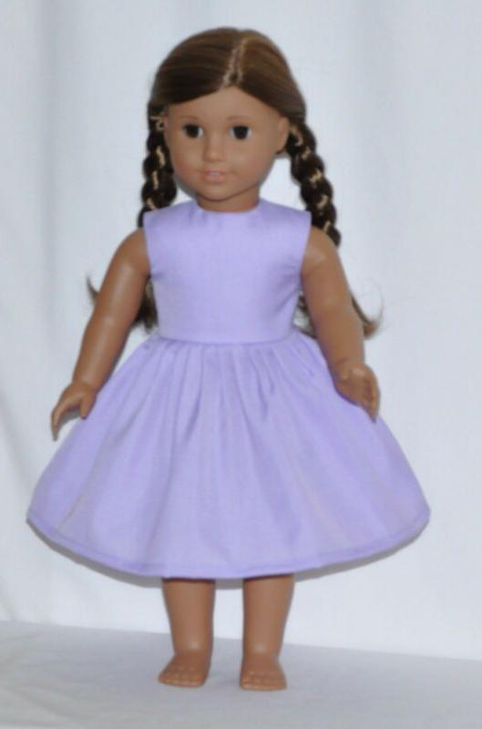 "Lavender 18"" American Clothes"