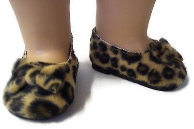 """Leopard Bow made 18"""" Girl Doll"""