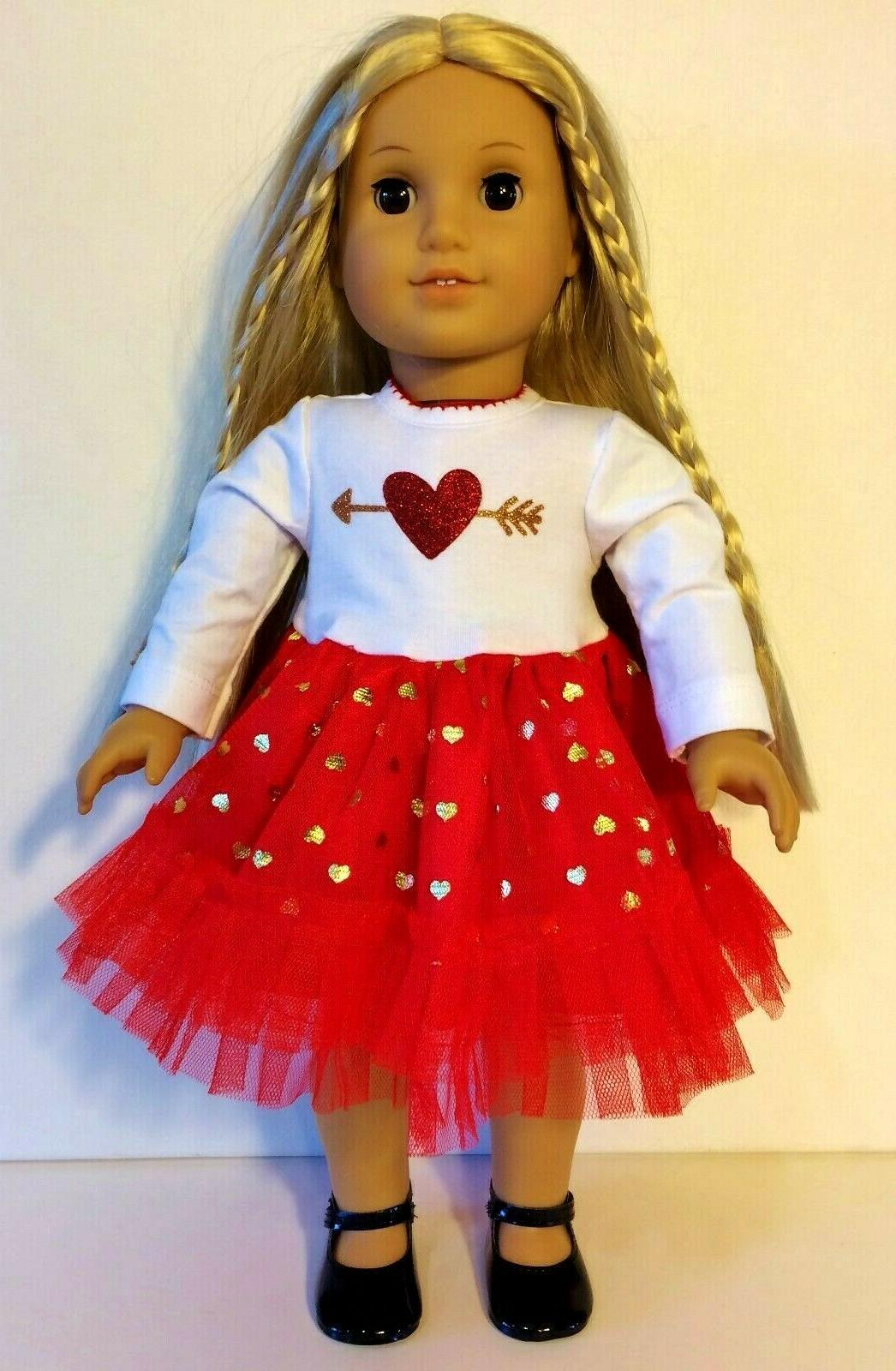 18 Inch Doll Clothes LOT, Minnie Mouse Holiday Brownie