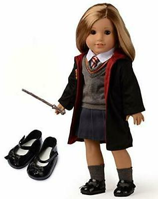 magic outfits witchcraft school uniform doll clothes