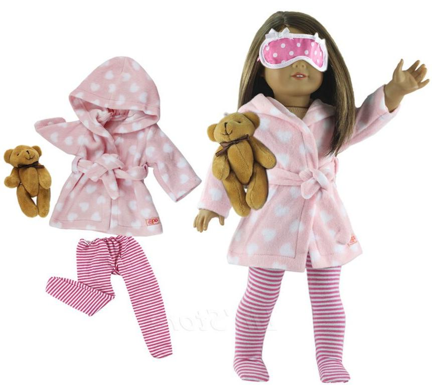 Many <font><b>Sleepwear</b></font> for Choice 1 Set <font><b>Clothes</b></font> inch American <font><b>Doll</b></font> <font><b>clothes</b></font>