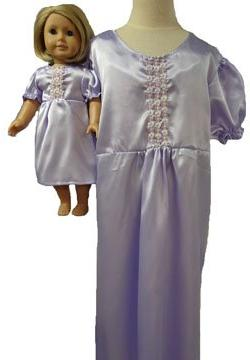 Doll Clothes Super store Matching Girl and Dolls Lavender Ni