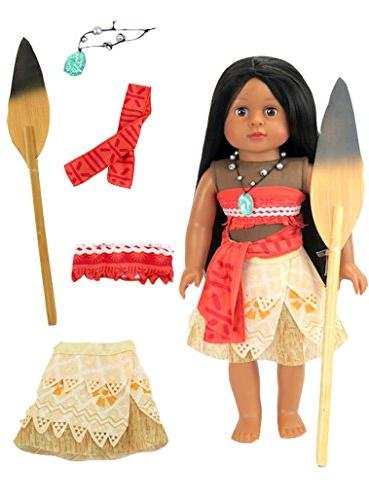 moana inspired outfit