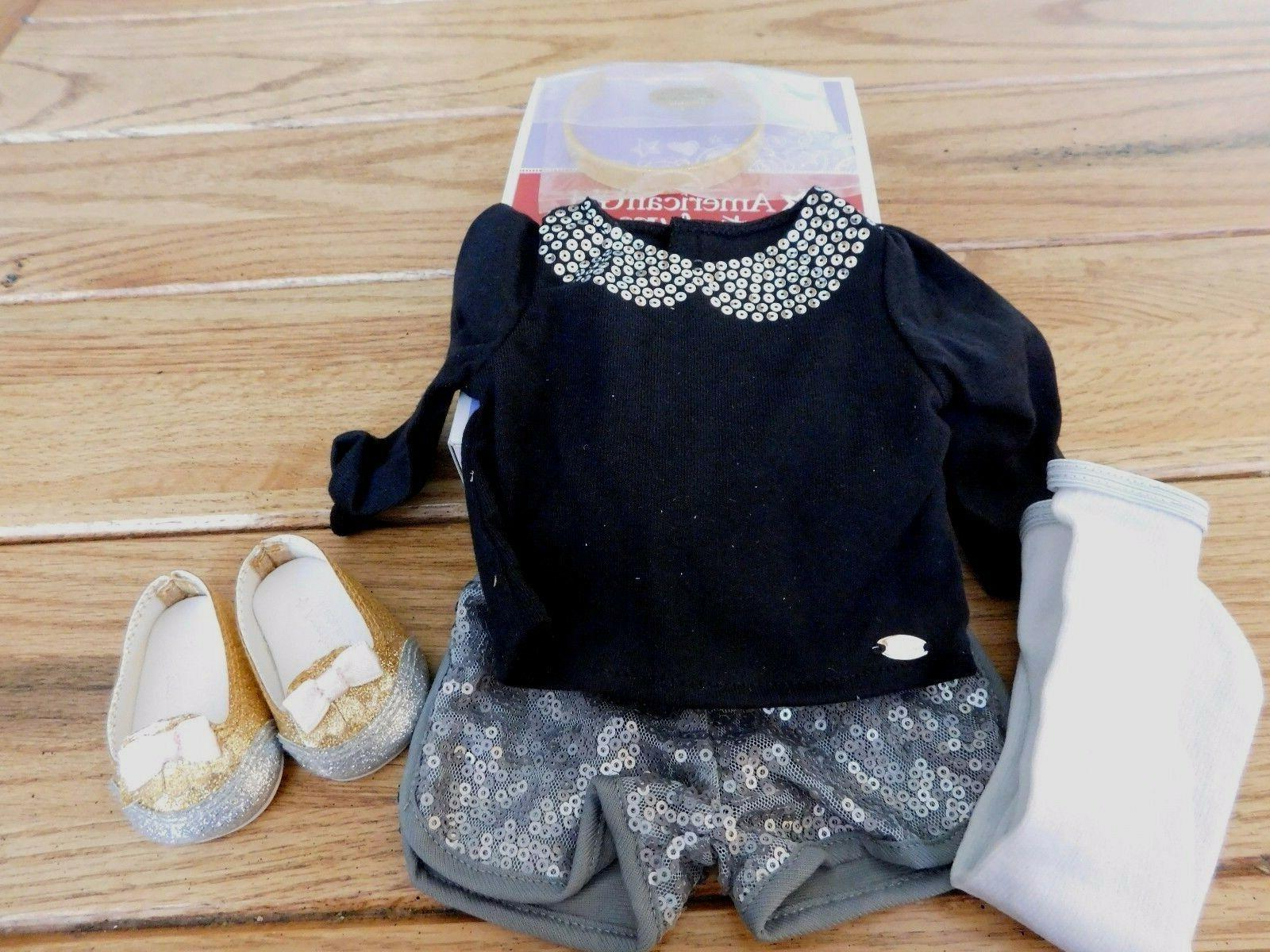 AMERICAN GIRL MYAG SPARKLE SPOTLIGHT OUTFIT NEW IN BOX FREE