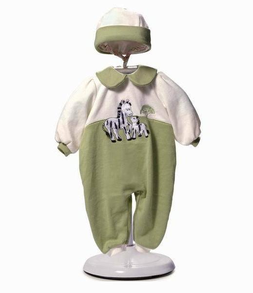 new 18 20 baby doll clothes zebra