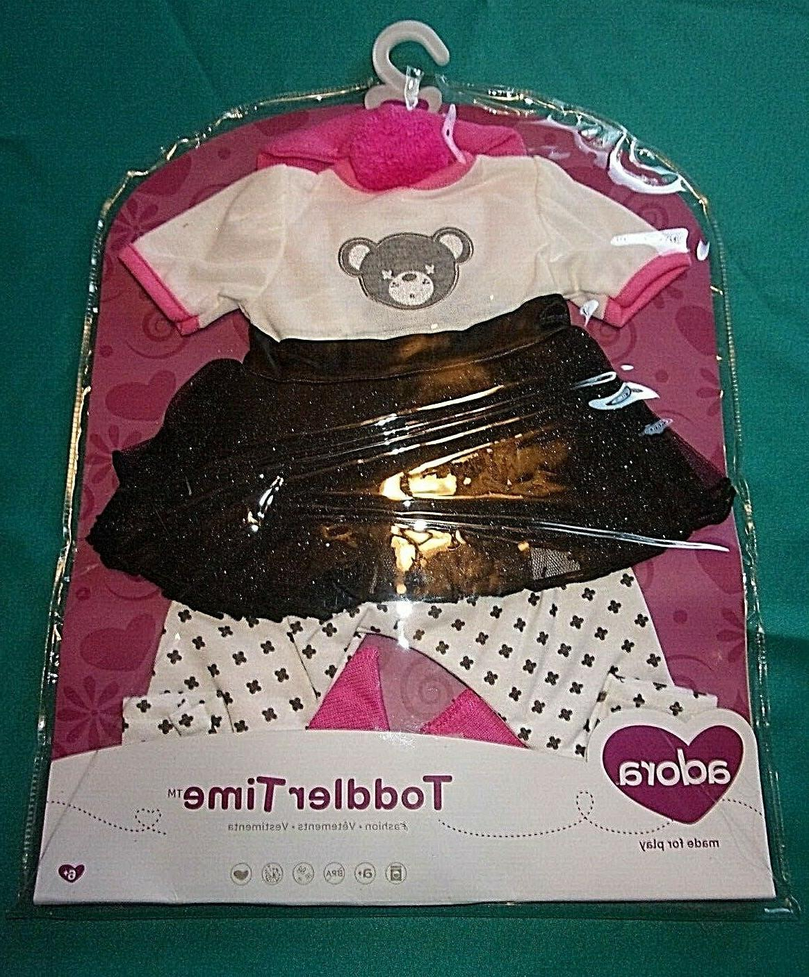 NEW ADORA TODDLER TEDDY OUTFIT