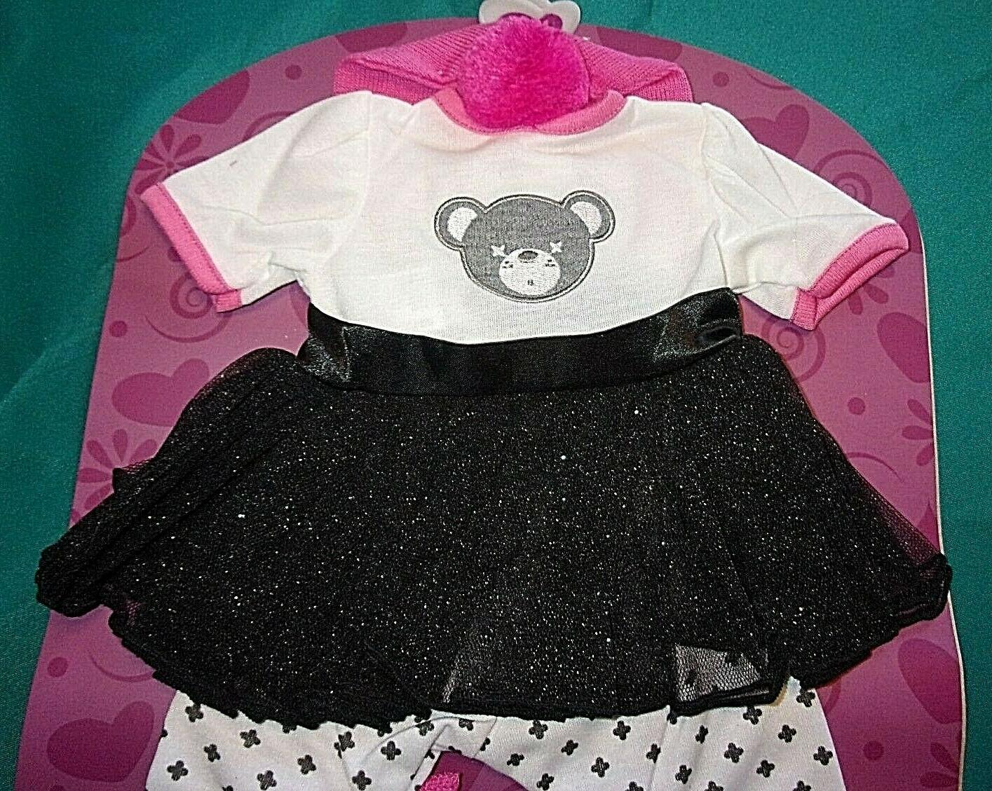 NEW ADORA TODDLER TIME OUTFIT W/SHOES