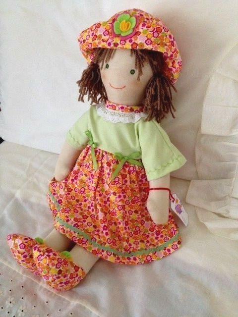 New cloth dolls. hand made dolls.waldorf doll. 21.5in.55cm.