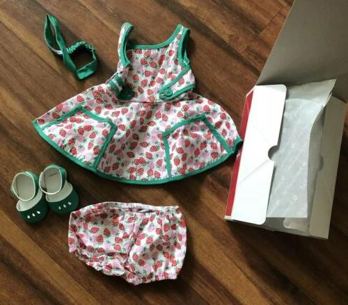 new doll maryellen strawberry summer outfit dress