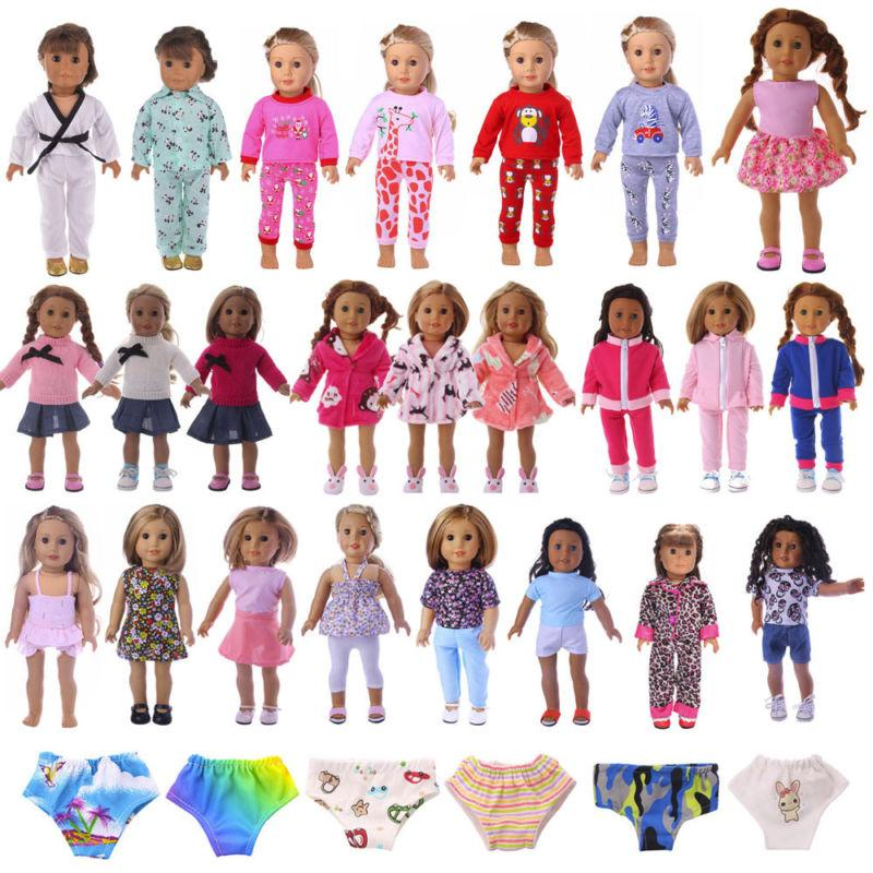 new handmade doll clothes dress accessories lot