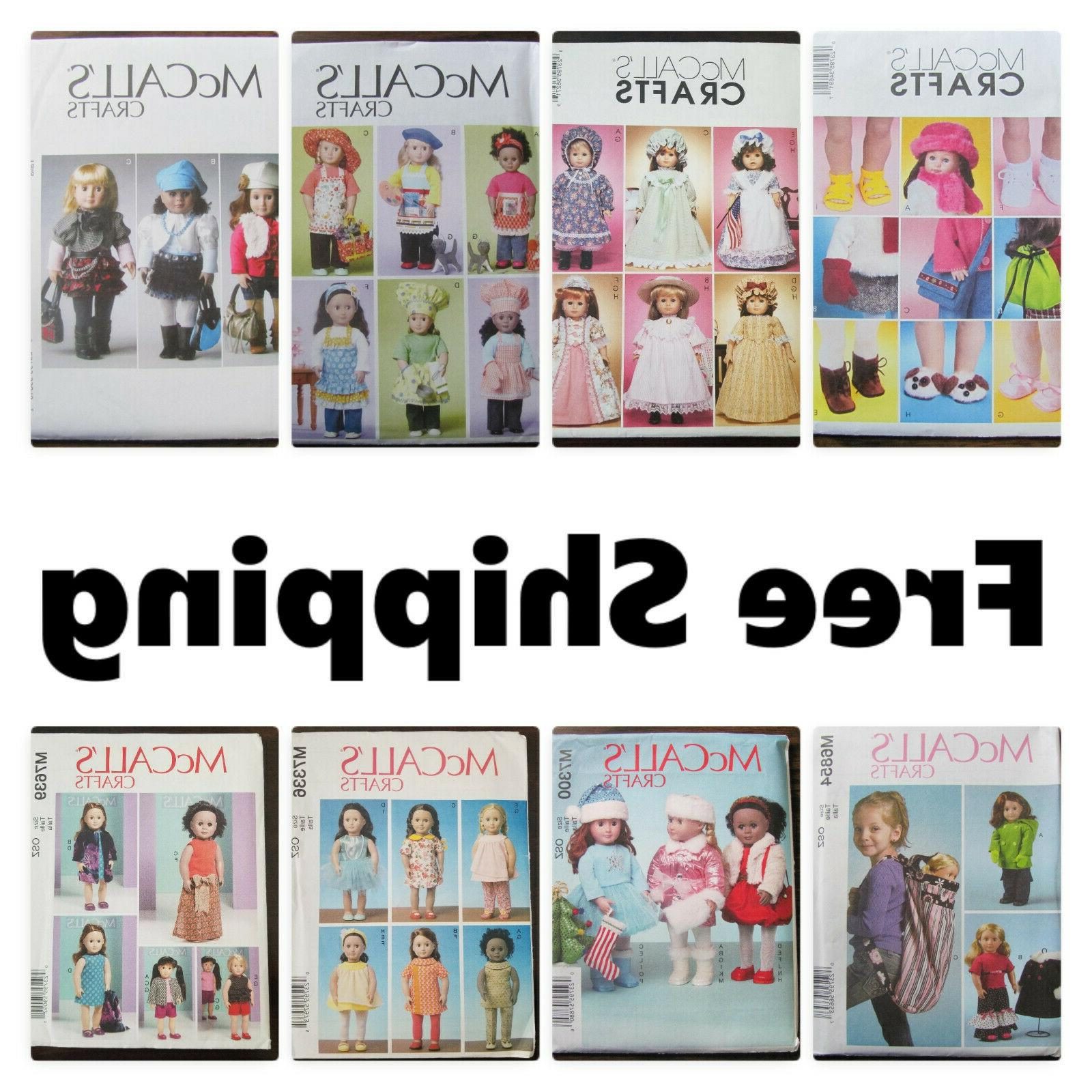 new s craft sewing pattern for 18