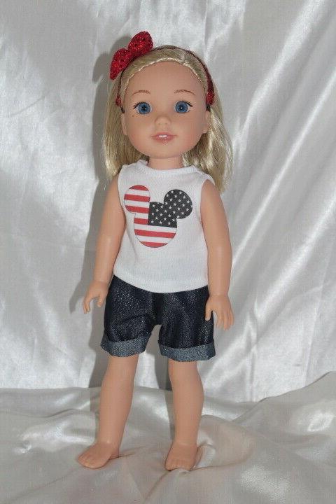Patriotic fits 14inch American