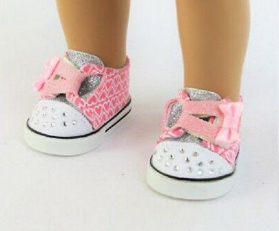 Pink Shoes for American inch Doll TRUE US SELLER