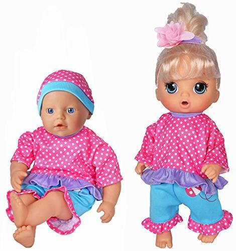 "5-Pack Playtime for 11""-12""-13"" Baby Dolls Baby New Baby Dolls"
